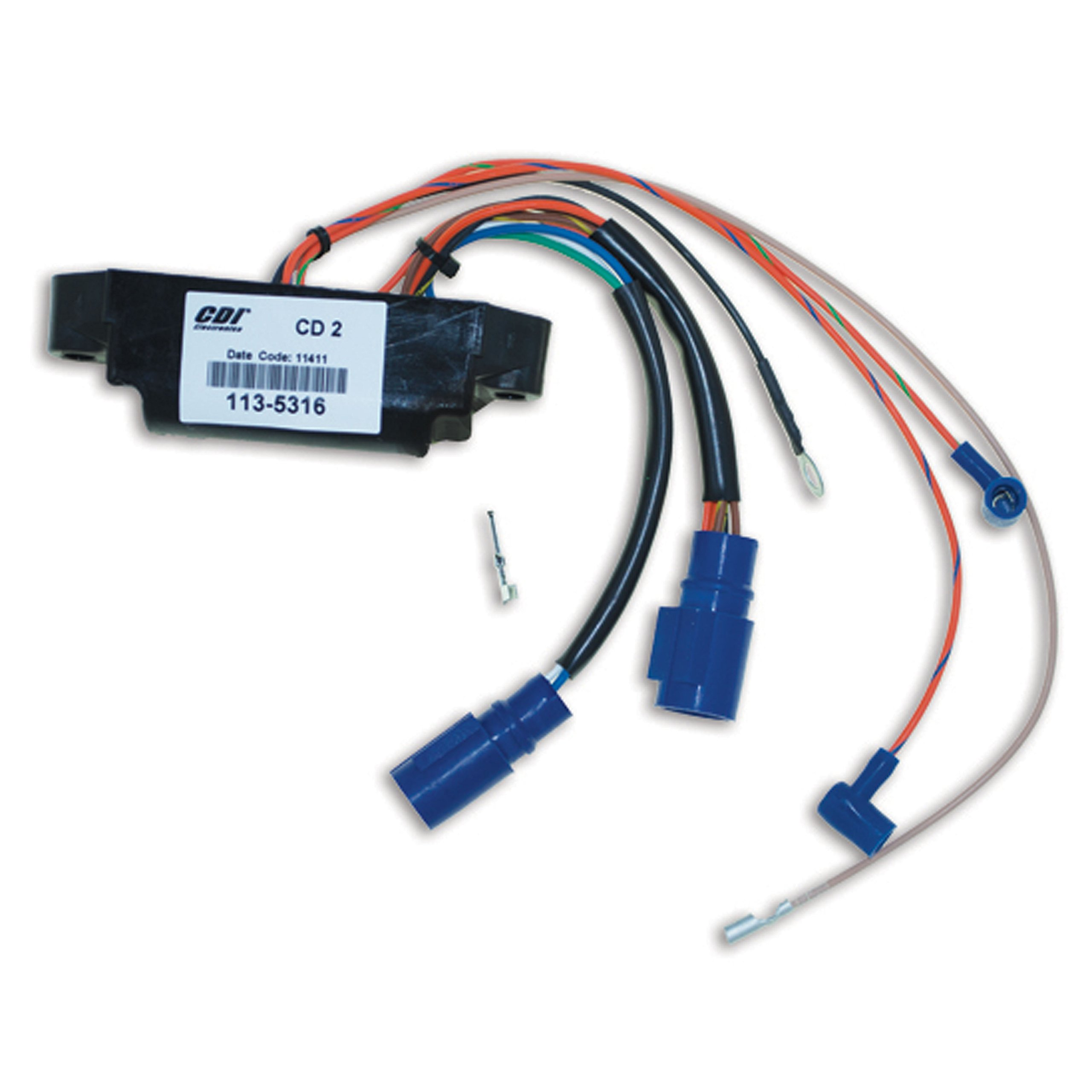 CDI Electronics 113-5316 Johnson/Evinrude Power Pack-2 Cyl (1992-2005)