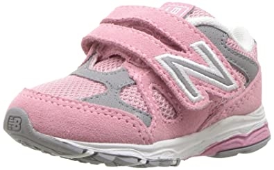 Classic Sale Online Clearance Pre Order New Balance 888v1 Hook and Loop Sneaker(Infants/Toddlers') -Grey/Navy Buy Cheap High Quality Buy Cheap Manchester Great Sale 5YoG2QyrDm