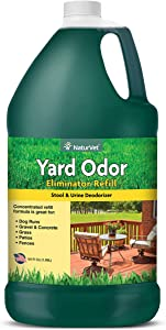 NaturVet – Yard Odor Eliminator – Eliminate Stool and Urine Odors from Lawn and Yard – Designed For Use on Grass, Plants, Patios, Gravel, Concrete & More