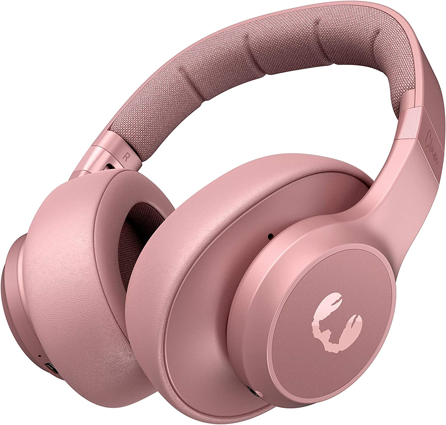 Fresh 'n Rebel Headphones Clam Dusty Pink, Over-Ear Auriculares Bluetooth