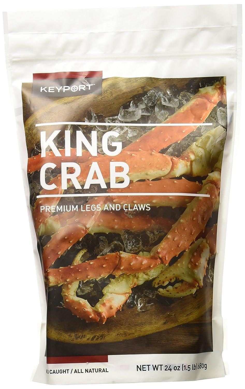 keyport red king crab legs u0026 claws 1 5 lb frozen amazon com