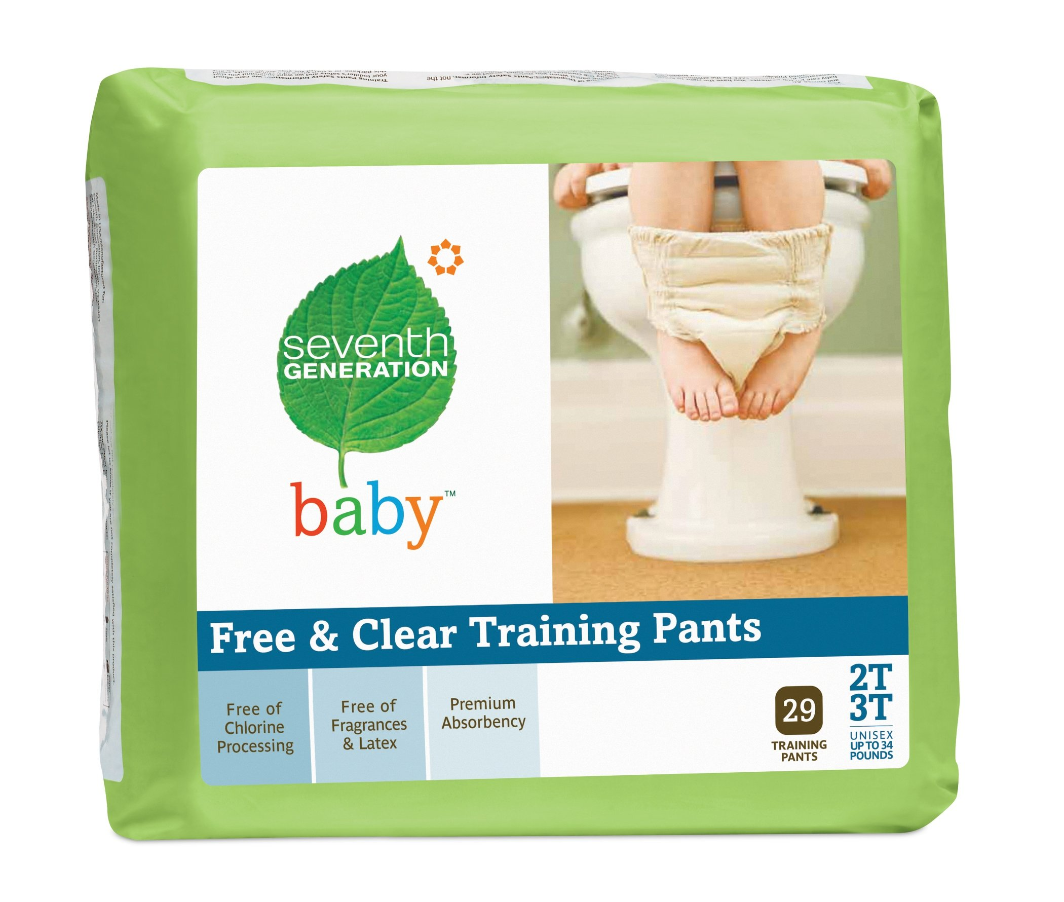 Seventh Generation Training Pants, 29 Count (Pack of 4)