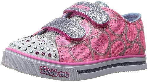 Skechers Sparkle Glitz-heartsy Glam, Zapatillas para Niñas: Amazon.es: Zapatos y complementos