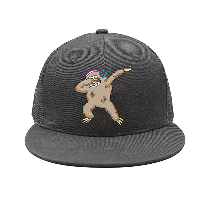 4be7e4f164f Trum Namii Unisex Plain Snapback Dabbing Sloth Funny Mens Baseball caps at  Amazon Men s Clothing store