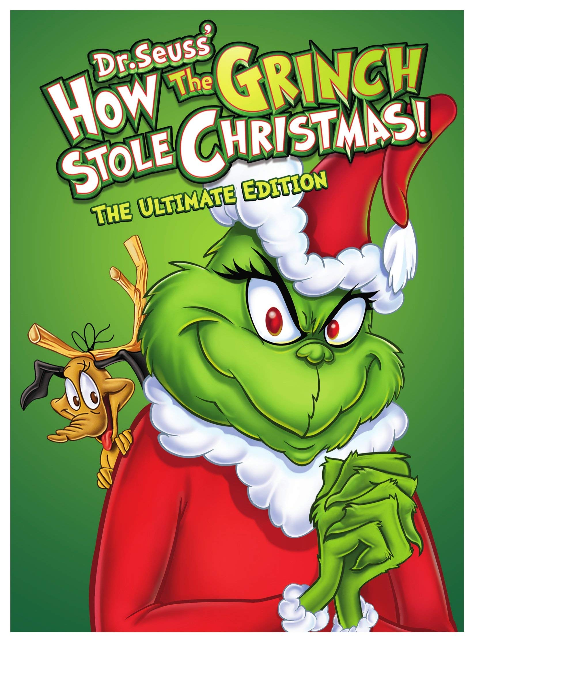 DVD : Dr. Seuss' How The Grinch Stole Christmas (ultimate Edition) (Ultimate Edition, Amaray Case, Dolby)