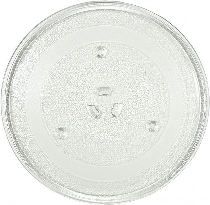 Amazon.com: Placa giratoria de vidrio para microondas y ...