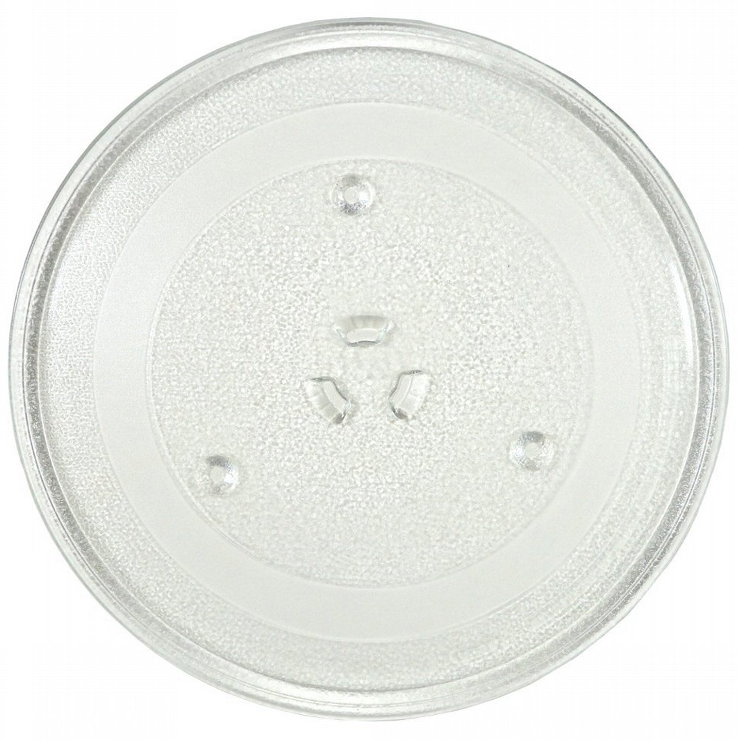 "11.25"" GE and Samsung -Compatible Microwave Glass Plate/Microwave Glass Turntable Plate Replacement - 11 1/4"" Plate, Equivalent to G.E. WB49X10097"