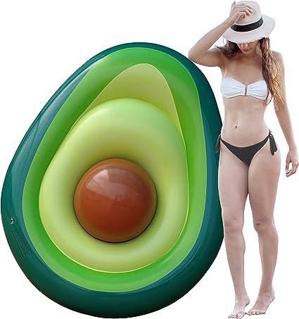 Amazon.com: Avocado Flotadores de piscina para adultos ...