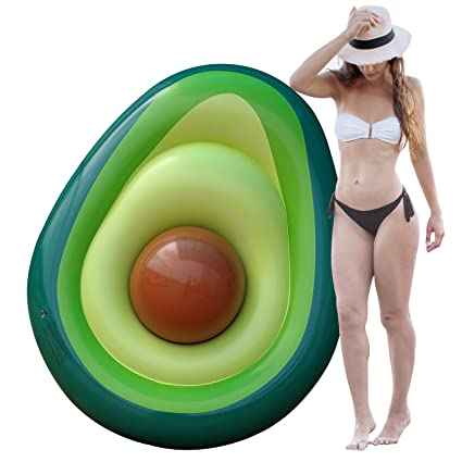 Amazon.com: Avocado Flotadores de piscina para adultos ...