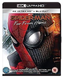 Spider-Man: Far From Home [4K Ultra HD] [Blu-ray] [2019] [Region Free]