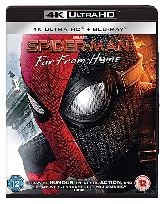 The Best Spiderman Far From Home Uhd Bluray