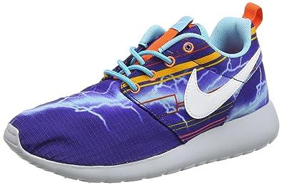 new styles 4653b 79e82 Nike Roshe One Print (GS) Unisex Kids  Multisport Outdoor Shoes, Blue -