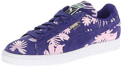 PUMA Women's Suede Classic Tropicalia Sneaker,Spectrum Blue,7.5 ...