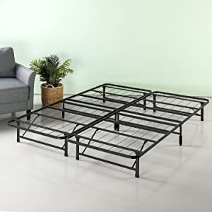 Zinus 12 Inch SmartBase Mattress Foundation, Platform Bed Frame, Box Spring Replacement, Quiet Noise-Free, Twin