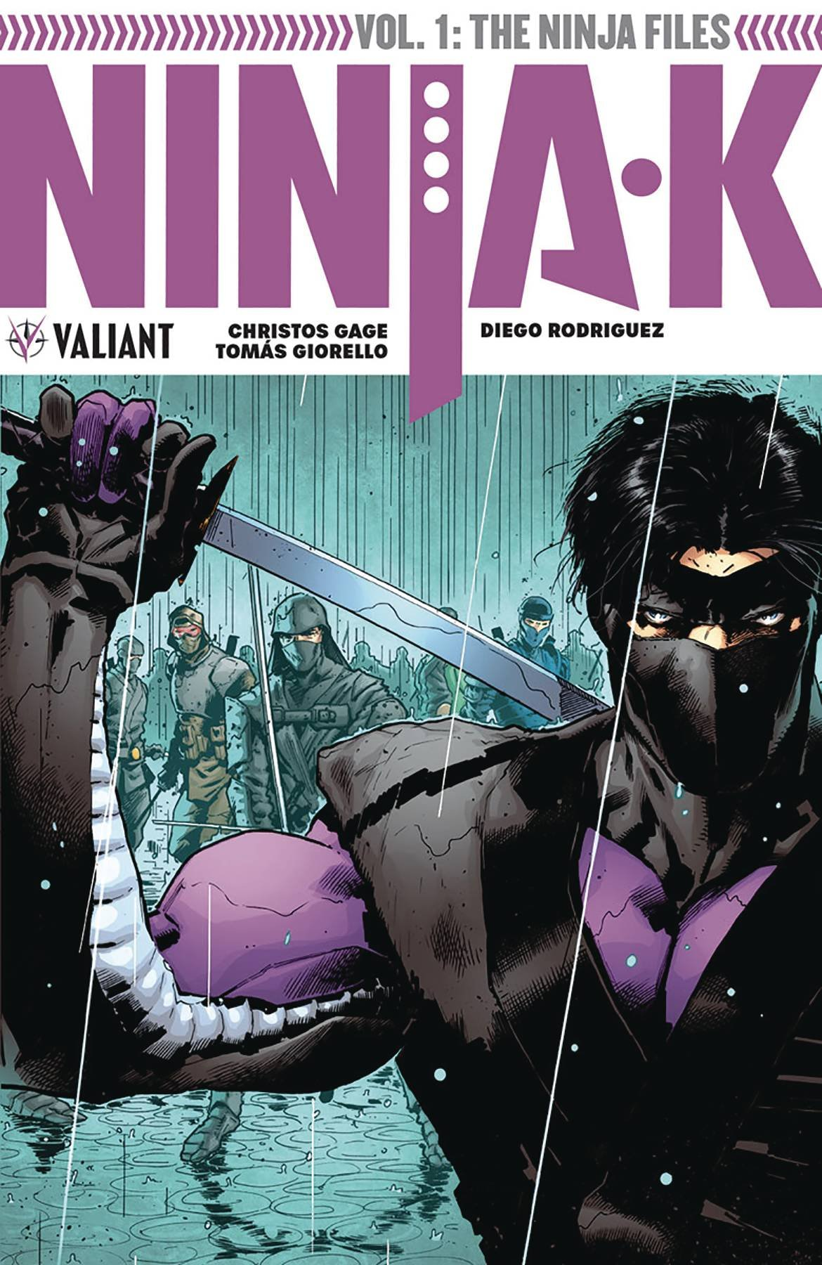 Ninja-K Volume 1: The Ninja Files: Christos Gage, Tomas ...