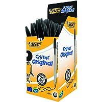 BIC Cristal Original Ballpoint Pens Black 50 Box