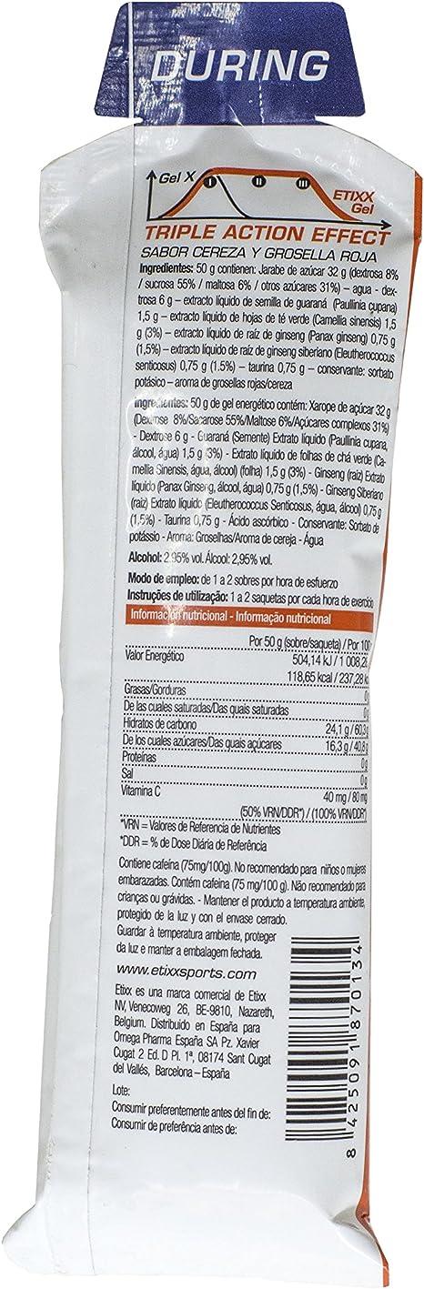 Etixx G&G Energy Gel RC/CH - 12 Unidades: Amazon.es: Salud y ...