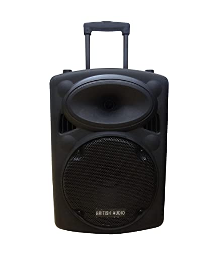 6e5094004 Image Unavailable. Image not available for. Colour  British Audio S10  Bluetooth Trolley Speakers