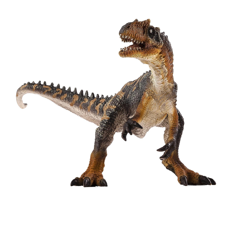 A MOJO Allosaurus Toy Figure