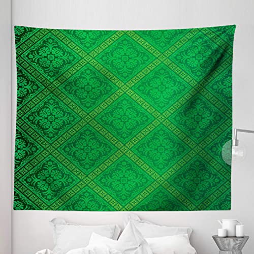 Ambesonne Green Tapestry King Size