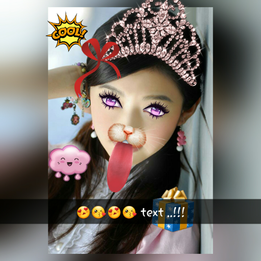 - Snap Funny photos filters