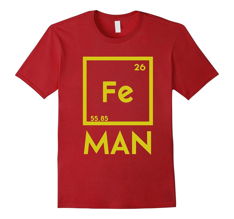 Iron man science funny chemistry fe periodic table t shirt cl colamaga iron man science funny chemistry fe periodic table t shirt cl urtaz Gallery
