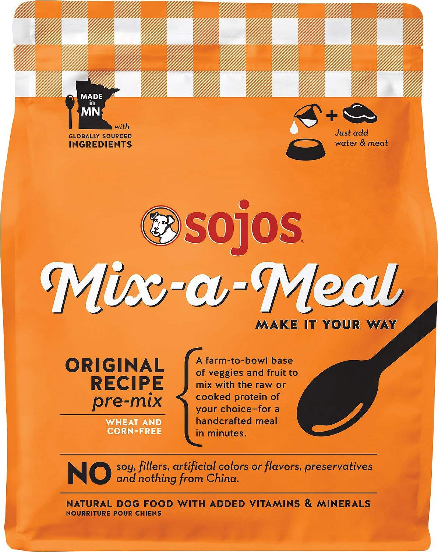 Sojos Mix-A-Meal Original Pre-Mix Dog Food, 40 Lb