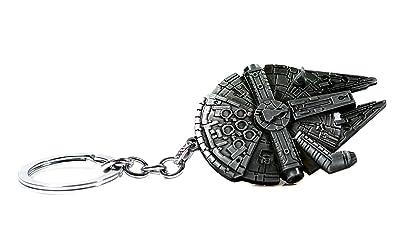 Accesorios de La Guerra de las Galaxias - Llavero de halcón del Milenio de Palladium - Llavero de nave estelar