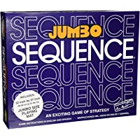 Happy GiftMart Jumbo Sequence Awesome Family Card Board Game Size 32 Inch by 27 Inch Board Game Exciting Card Strategy