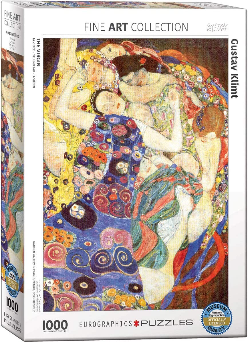 EuroGraphics The Kiss by Gustav Klimt 1000-Piece Puzzle Small Box Puzzle