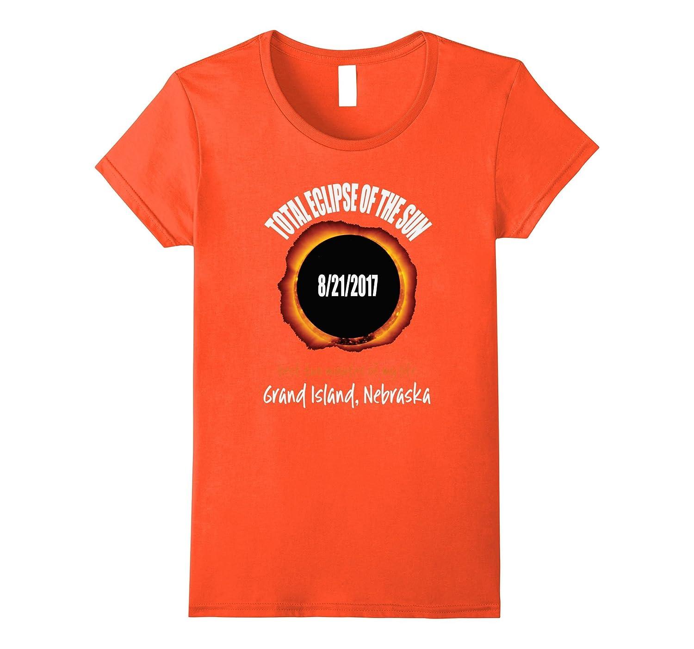 2017 Eclipse Souvenir Grand Island, Nebraska T Shirt