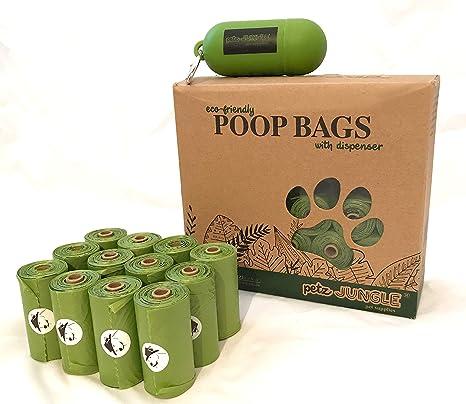 Petz Jungle - Bolsas para Caca de Perro, 26 Rollos, 390 ...
