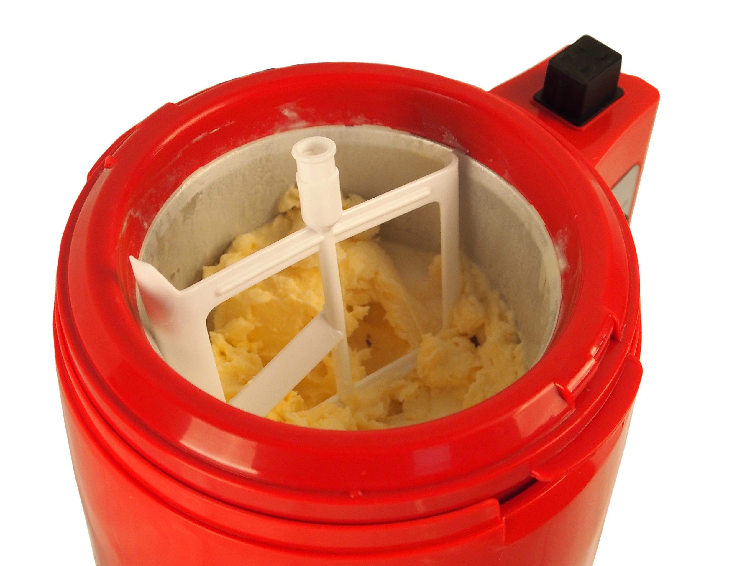 Makes Ice Cream Frozen Yoghurt Sorbet Lickleys 2-in-1 Ice Cream /& Yoghurt Maker