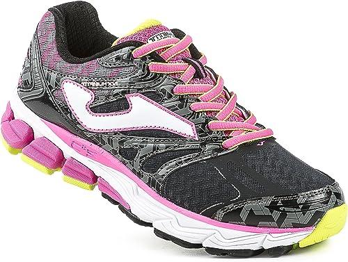 Joma R.Titanium Lady 601 Negro-Fucsia - Zapatillas para Correr para Mujer, Color Negro-Fucsia, Talla 37: Amazon.es: Zapatos y complementos