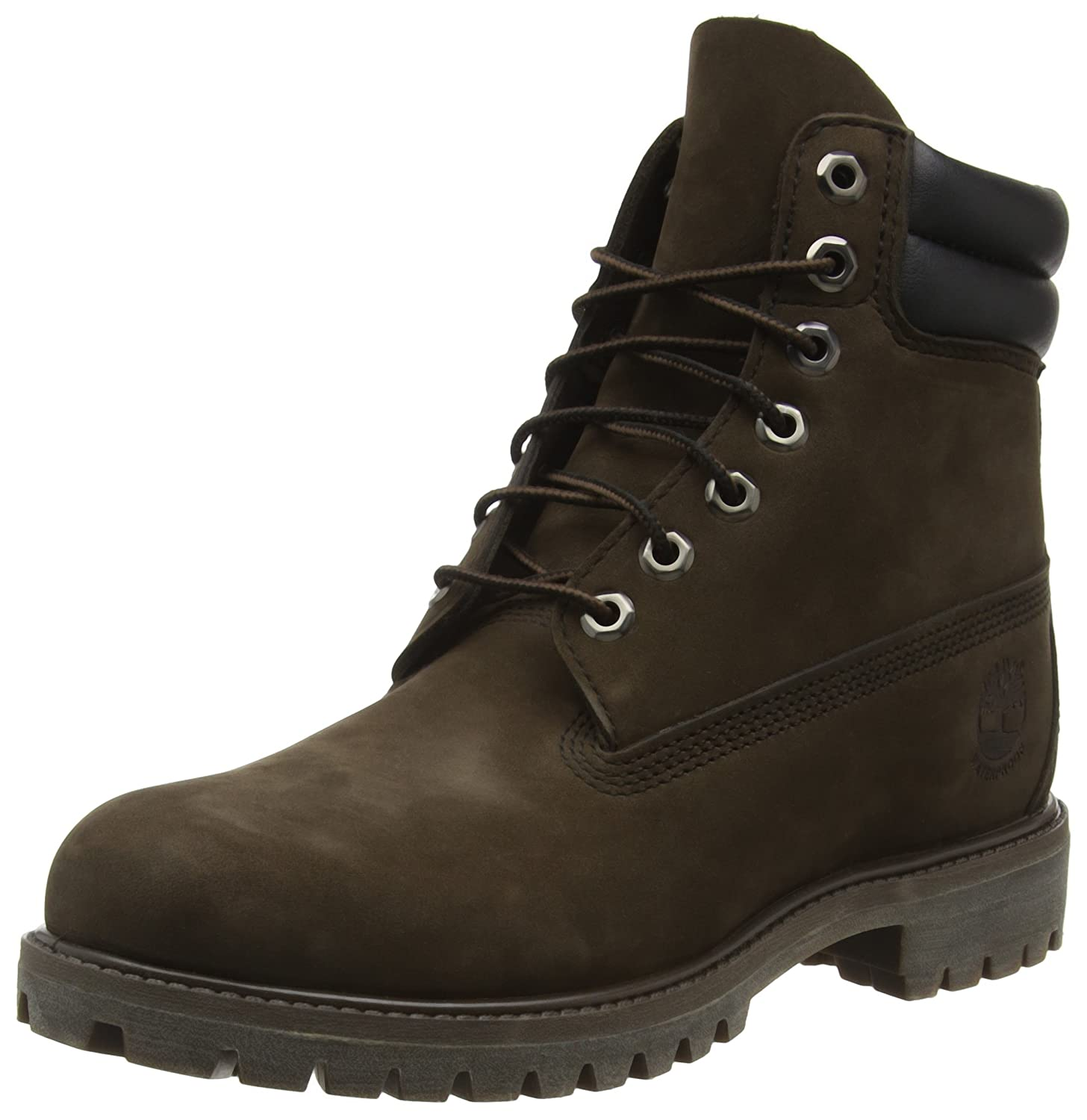 TALLA 40 EU. Timberland 6 In Double Collar Waterproof (Wide Fit), Botas para Hombre