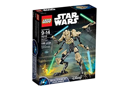Amazon Lego Star Wars 75112 General Grievous Building Kit Toys
