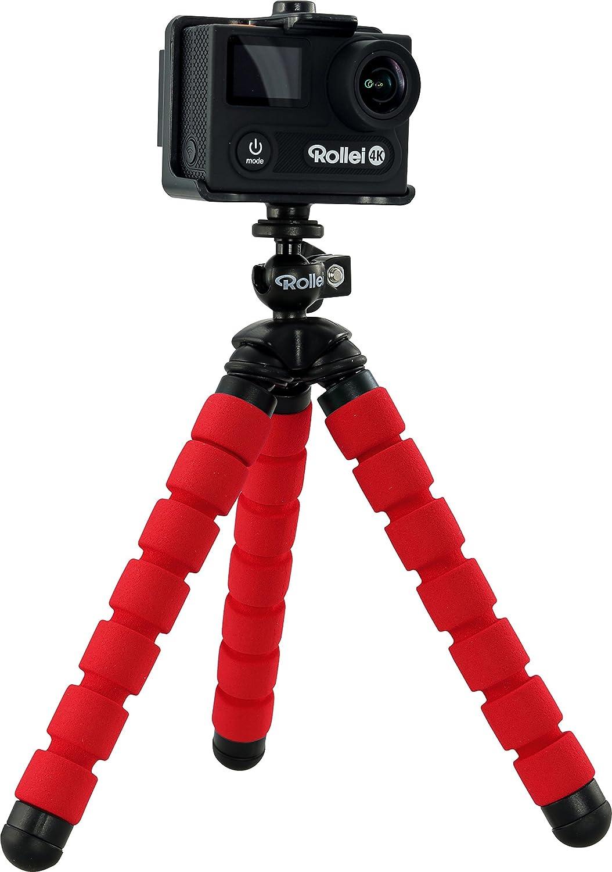 Rollei Selfie Mini Stativ Flexibles Stativ Mit Kamera