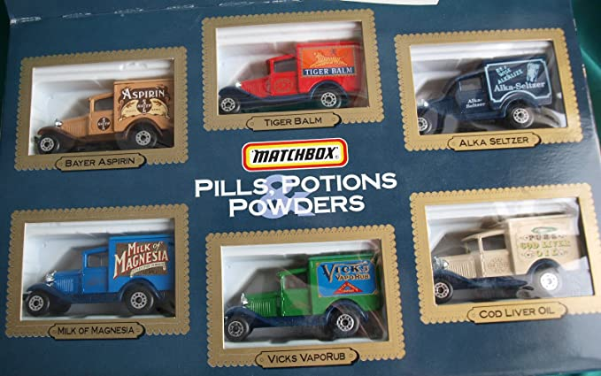 MATCHBOX: Pills, Potions & Powders - Special Edition 6 Vehicle Gift Set by Matchbox: Amazon.es: Juguetes y juegos