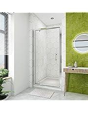 Pivot Hinger Shower Door Enclosure 6mm Safety Glass