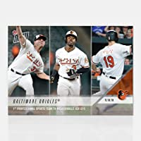 5f94ad121 2018 BALTIMORE ORIOLES 1st PRO TEAM TO WEAR BRAILLE JERSEYS TOPPS NOW  BASEBALL CARD  746