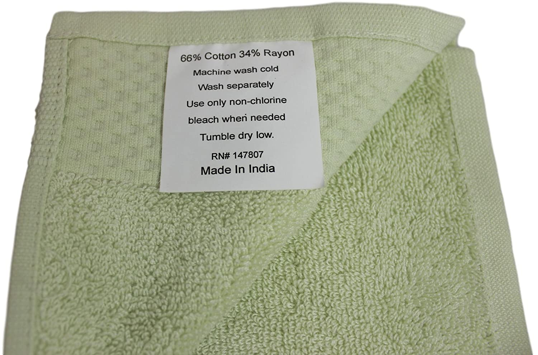 Vila Vaste Bamboo Bath Towel Set (Light Green)