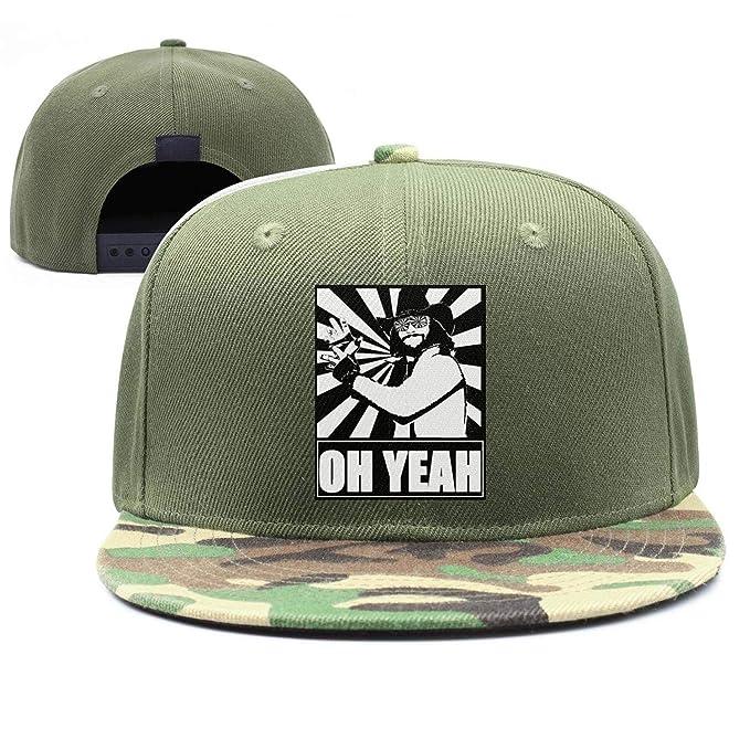 020eeec38ec7c6 Baseball Cap Macho-Man-Randy-Savage-Digital-Art- Cool Snapbacks Cap Baseball  Trucker Hats Unisex at Amazon Men's Clothing store: