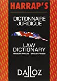 Dictionnaire juridique français-anglais / anglais-français : Law Dictionary French-English/English-French
