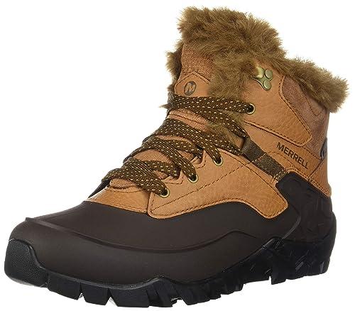 Merrell Aurora 6 Ice+ Waterproof, Zapatos de High Rise Senderismo para Mujer: Amazon.es: Zapatos y complementos