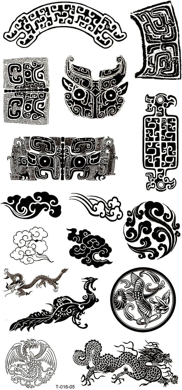 Hierba (Sunshine larga último Tatuajes temporales Varios Totems ...