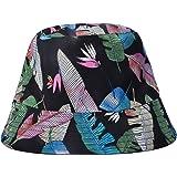 ZLYC Fashion Bucket Hat Summer Fisherman Cap for Women Men Teens