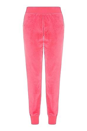 Lipsy Mujers Pantalones De Chándal De Paradise Rosa EU 44 (UK 16 ...