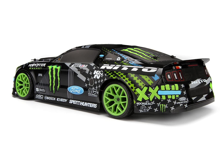Hpi Drift Rtr With Vaughn Gittin Jr Monster Ford Mustang Body