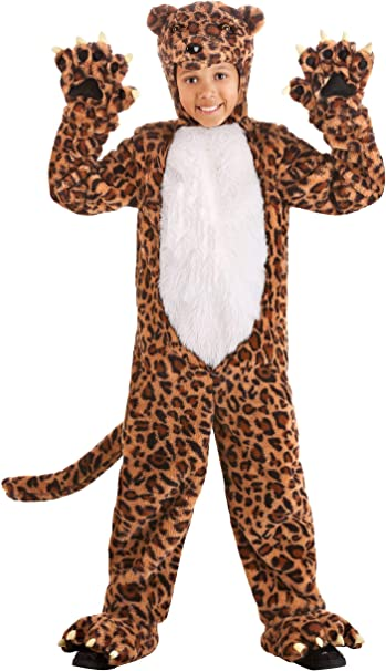 Fun Costumes Disfraz de leopardo para niños - Marrón - X-Large ...