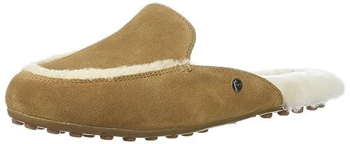 UGG Zapatos Lane Mocasines de Ante Chestnut Mujer Chestnut 40: Amazon.es: Zapatos y complementos